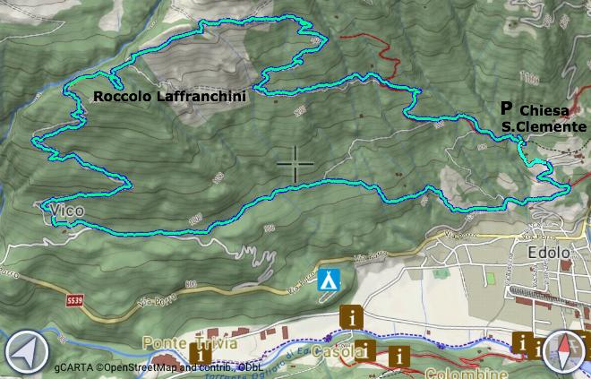 Mappa Roccolo Sandro
